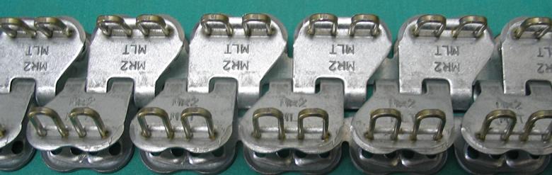 Minirecord - spojnica za trake od plastike PVC PU