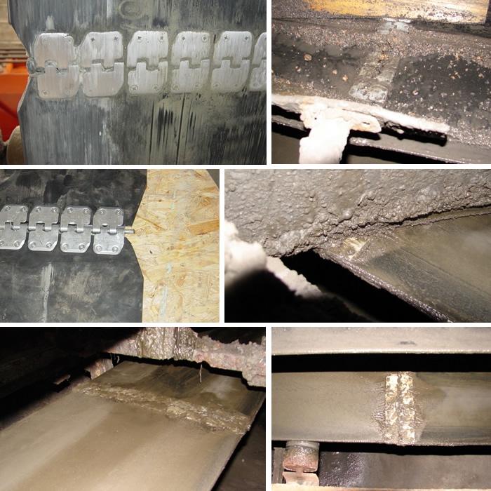 zastosowanie złączy MS45 na przenośnikach taśmowych w ciepłowniach