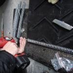 MS25 - clip za spajanje gumeni remeni - instalacija 2