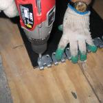 spajanje traka - spojnice MS 45 (instalacija 12)