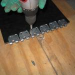 spajanje traka - spojnice MS 45 (instalacija 11)