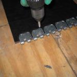 spajanje traka - spojnice MS 45 (instalacija 10)