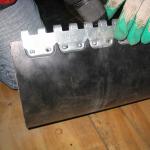 spajanje traka - spojnice MS 45 (instalacija 9)