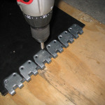spajanje traka - spojnice MS 45 (instalacija 3)