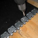 spajanje traka - spojnice MS 45 (instalacija)