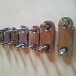 pločasto povezivanje - pregled limenih spojnica (veličine)